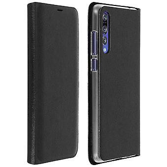 Kääntää kirjan kansi, lompakon tapaus telineellä Huawei P20 Pro - musta