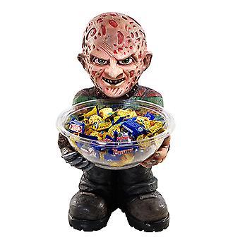 Freddy Candy Bowl Tutucu Yarım Heykel 40 cm Kase ile