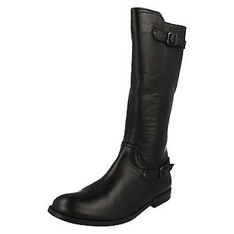 Jeunes filles Startrite plat haute de genou Boot avec boucle détails Cavaletti