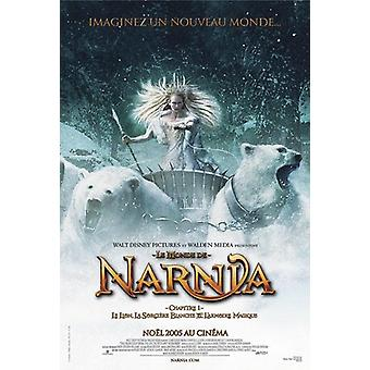 Chronicles of Narnia plakat-fransk film plakat