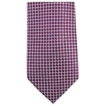 Knightsbridge Krawatten kleines Quadrat Krawatte - Pink