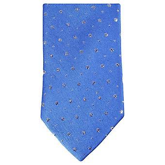 Knightsbridge Neckwear блеск галстук тощий - синий