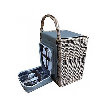 Chill Wicker Beach Picnic Basket