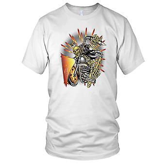 Sleeton motard - motard moto Moto porc Mens T Shirt