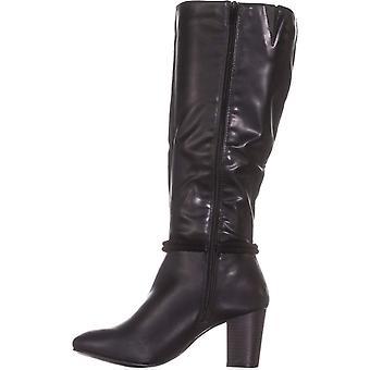 Karen Scott Womens Galee gesloten Teen Fashion knie hoge laarzen