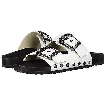 Fergalicious Womens Louie Open Toe Casual Slide Sandals