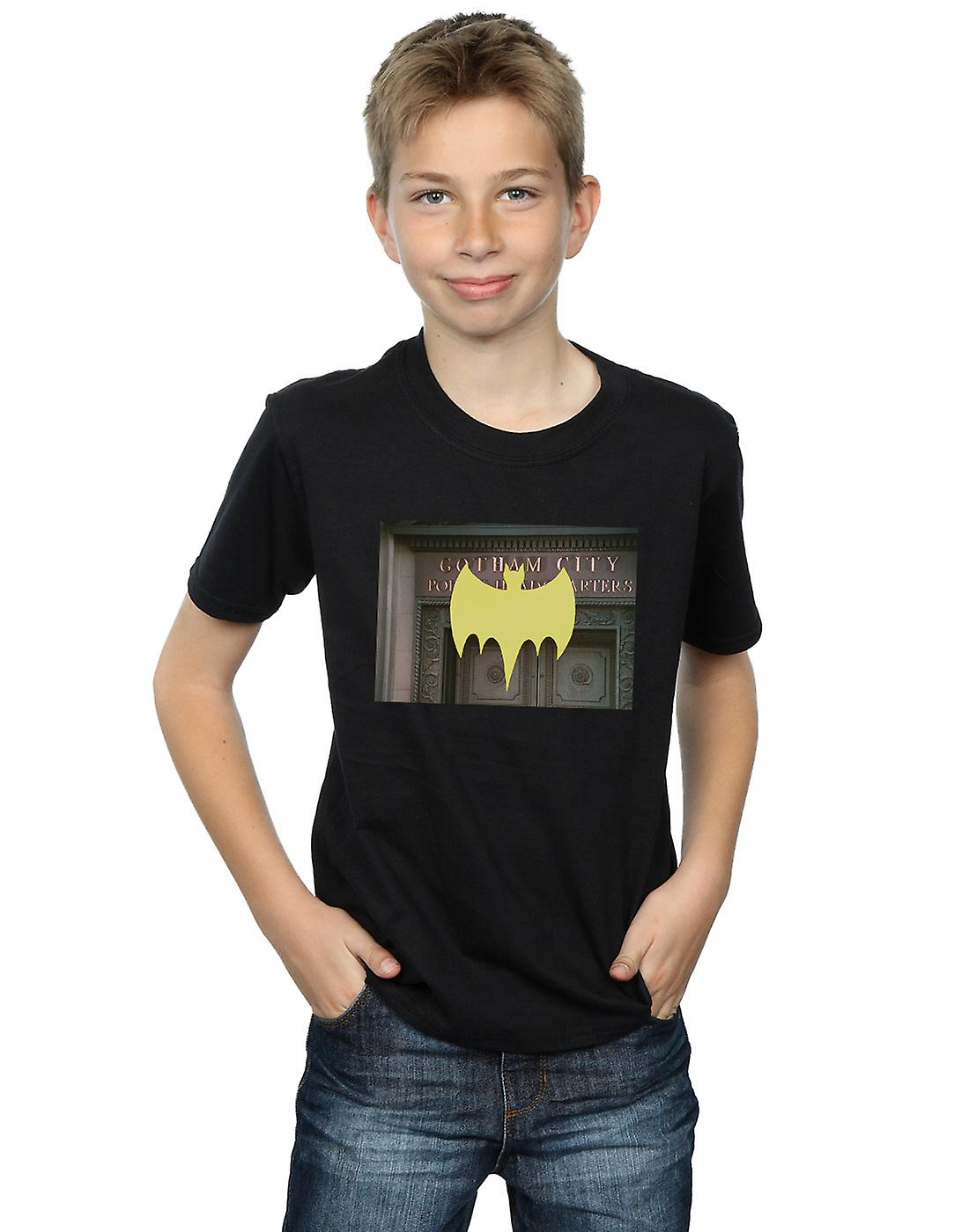 DC Comics Boys Batman TV Series Gotham City Police T-Shirt