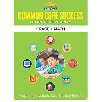 Barron's gemeenschappelijke kern succes Grade 1 Math werkmap (Core succes werkmap)
