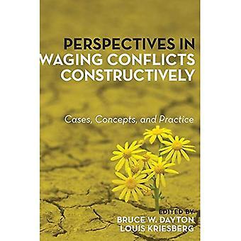 Perspektiven in Waging Konflikte konstruktiv: Fälle, Konzepte und Praxis