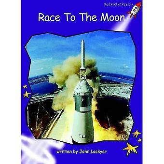 Race till moonen: nivå 3: flyt (röd raket läsare: facklitteratur uppsättning B)