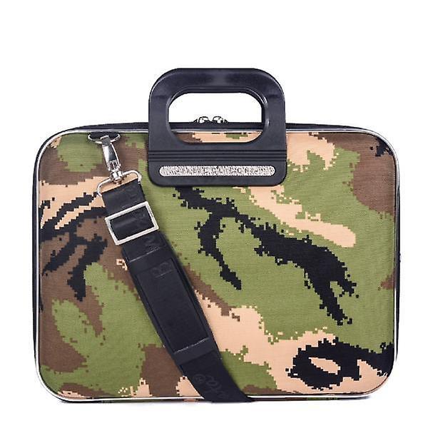 The AVIANO Bombata Briefcase by Fabio Guidoni Messenger Bag - 13 / Green