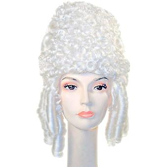 Μαρία Αντουανέττα λευκή περούκα