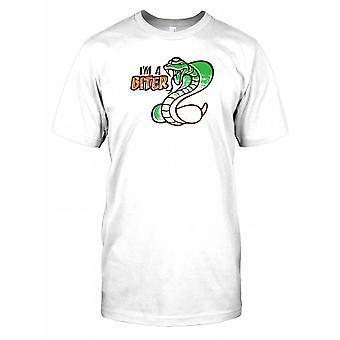 Je suis un Mordant - Grand Serpent - Plaisanterie drôle Hommes T-shirt
