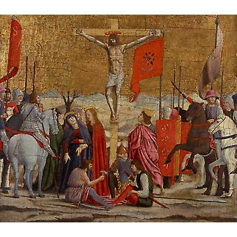 La Crucifixion, Piero della Francesca, 37,5 x 41,1 cm