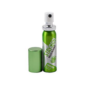Paquete de cardamomo fresco de 6 refrescantes de aliento Oral Hygiene Mouth Pump Spray