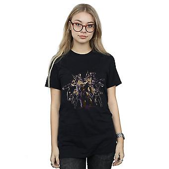 Marvel femmes Avengers Endgame vs Thanos copain fit T-Shirt