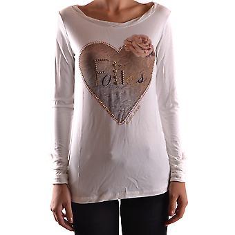 Blugirl Folies Ezbc208004 Femmes-apos;s White Viscose Sweater