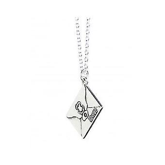 Harry Potter Sterling Silver Hogwarts Angendarts Charm Necklace