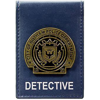 DC Comics Batman Gotham City Detective insignia ID y tarjeta de Bi-Fold Wallet