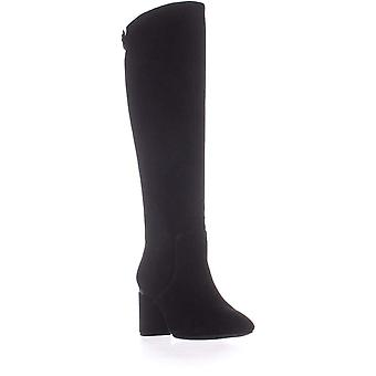Alfani Womens Nessiil Leder Mandeltod Knee High Fashion Boots