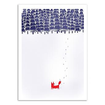 Art-Poster - Alone in the forest - Robert Farkas 50 x 70 cm