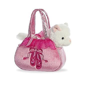 Mundo Aurora Pals fantasia Ballet pelúcia brinquedo Pet transportadora, rosa