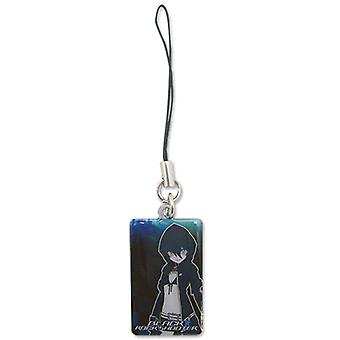 Cell Phone Charm - Black Rock Shooter - New Black Rock Potrait Anime ge17074