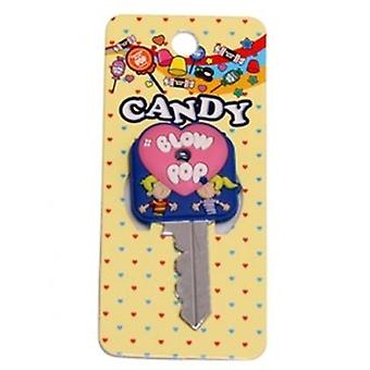 Key Cap - Tootsie Roll - Blow Pop Rubber PVC Anime New tkc0003