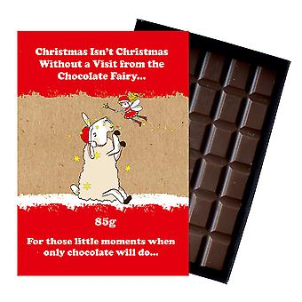 Funny Christmas Gift For Men Women Boxed Chocolate Festive Xmas Present for Him or Her XMS108