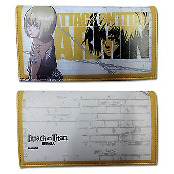Wallet - Attack on Titan - Armin Girl Style Toys Anime Licensed ge80306