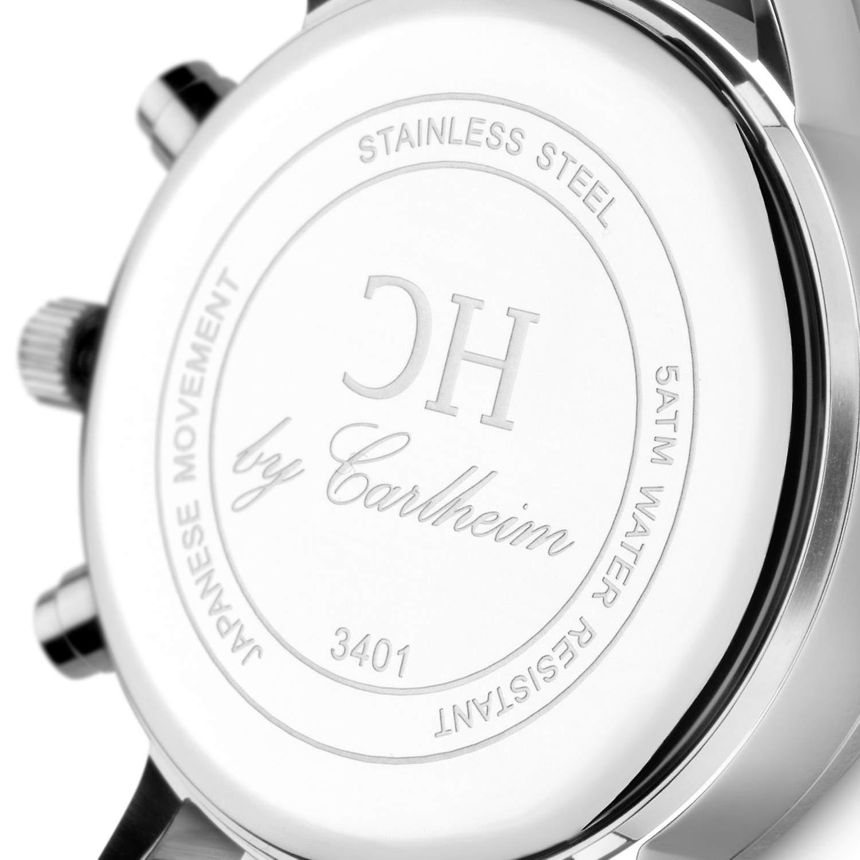 Carlheim | Wristwatches | Chronograph | Mandø | Scandinavian design