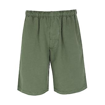 Edwin Chiba Militaire Green Dyed Shorts