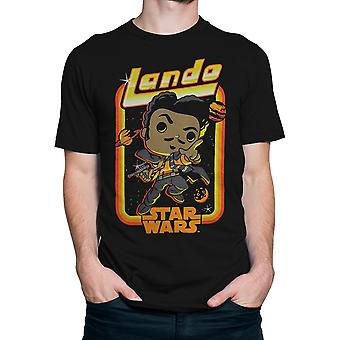 Funko pop! T-shirt dos homens de Star Wars solo Lando ' s