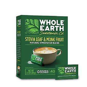 Hele jorden Stevia Leaf & munk frugt pakker 2 Pack