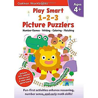 Play Smart 1-2-3 Picture Puzzlers 4+