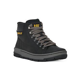 Cat irondale black boots