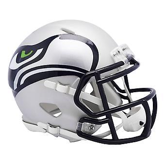 Riddell Speed Mini Football Helmet - NFL AMP Seattle Seahawks