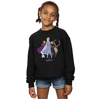 Sweatshirt disney Girls Frozen 2 Group