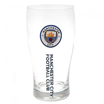 Manchester City FC Tulip Pint Glass