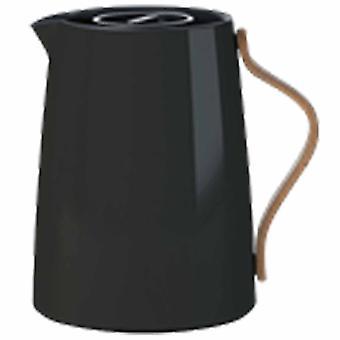 Stelton Emma kruik van thee 1 liter zwart stoofje