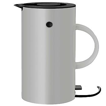 Stelton em77 vakuum vattenkokare 1,5 liter ljus grå