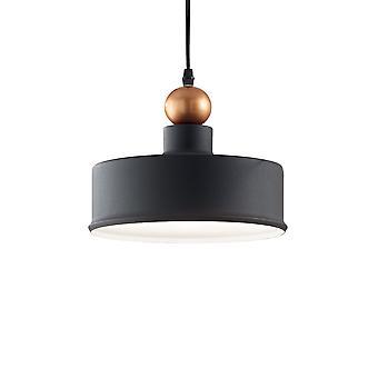 Ideal Lux Triade 1 ljus kupol tak hängande ljusgrå IDL221489