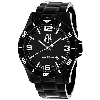 Jivago Men's Ultimate Black Dial Watch - JV6110