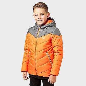 Nieuwe Regatta Kids ' Lofthouse III geïsoleerde jas oranje