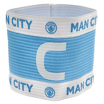 Manchester City FC Capitans Arm Band