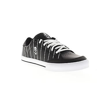 Circa AL50 8100 2746 Mens Black Leather Skate Inspired Sneakers Shoes
