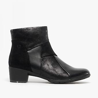 Heavenly Feet Imogen Ladies Ankle Boots Black
