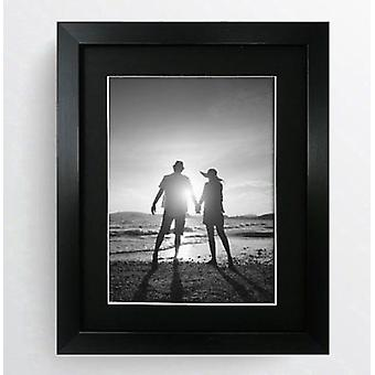 Photo Picture Frame with Black Mount Oxford Modern Contemporary 10x8