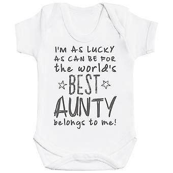 I'm As Lucky As Can Be Best Aunty gehört mir! Baby Body