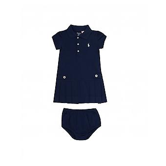 Polo Ralph Lauren Childrenswear Nautical Pleated Robe avec boutons